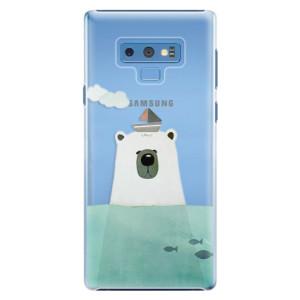 Plastové pouzdro iSaprio Medvěd s Lodí na mobil Samsung Galaxy Note 9