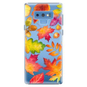 Plastové pouzdro iSaprio Podzimní Lístečky na mobil Samsung Galaxy Note 9