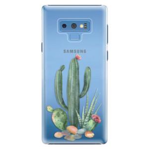 Plastové pouzdro iSaprio Kaktusy 02 na mobil Samsung Galaxy Note 9