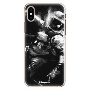 Plastové pouzdro iSaprio Astronaut 02 na mobil Apple iPhone XS