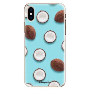 Plastové pouzdro iSaprio Kokos 01 na mobil Apple iPhone XS