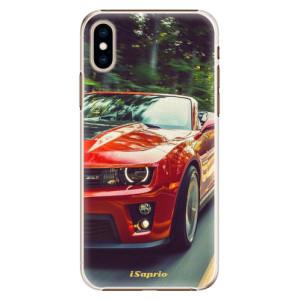 Plastové pouzdro iSaprio Chevrolet 02 na mobil Apple iPhone XS