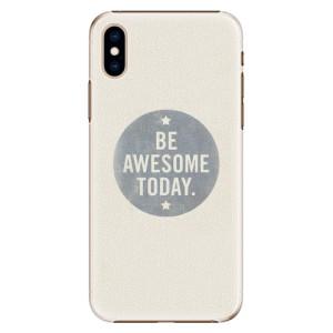 Plastové pouzdro iSaprio Awesome 02 na mobil Apple iPhone XS