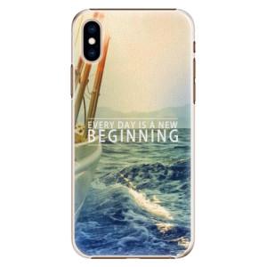 Plastové pouzdro iSaprio Beginning na mobil Apple iPhone XS