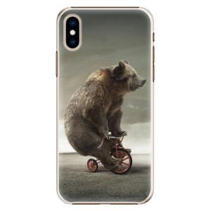 Plastové pouzdro iSaprio Medvěd 01 na mobil Apple iPhone XS