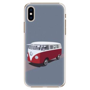 Plastové pouzdro iSaprio VW Bus na mobil Apple iPhone XS
