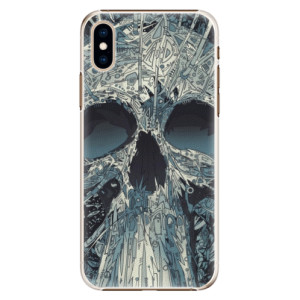 Plastové pouzdro iSaprio Abstract Skull na mobil Apple iPhone XS