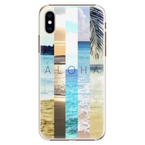 Plastové pouzdro iSaprio Aloha 02 na mobil Apple iPhone XS