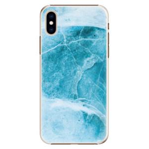 Plastové pouzdro iSaprio Blue Marble na mobil Apple iPhone XS