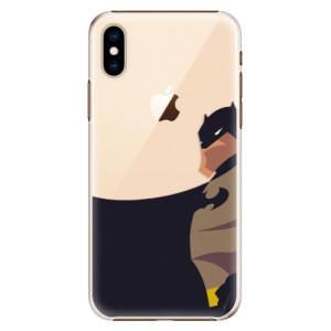 Plastové pouzdro iSaprio BaT Komiks na mobil Apple iPhone XS