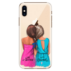 Plastové pouzdro iSaprio Best Friends na mobil Apple iPhone XS