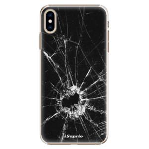 Plastové pouzdro iSaprio Broken Glass 10 na mobil Apple iPhone XS Max