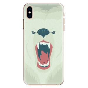 Plastové pouzdro iSaprio Naštvanej Medvěd na mobil Apple iPhone XS Max