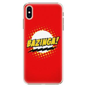 Plastové pouzdro iSaprio Bazinga 01 na mobil Apple iPhone XS Max