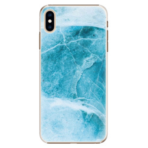 Plastové pouzdro iSaprio Blue Marble na mobil Apple iPhone XS Max