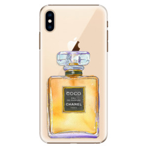 Plastové pouzdro iSaprio Chanel Gold na mobil Apple iPhone XS Max