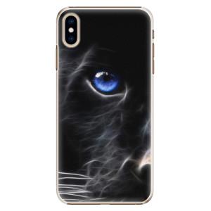 Plastové pouzdro iSaprio Black Puma na mobil Apple iPhone XS Max