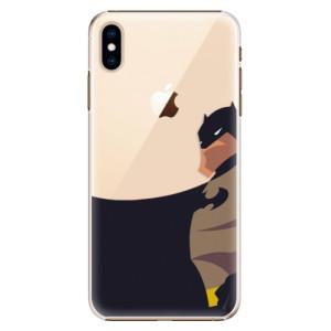 Plastové pouzdro iSaprio BaT Komiks na mobil Apple iPhone XS Max