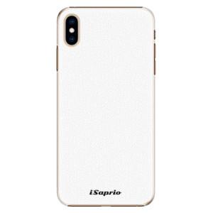Plastové pouzdro iSaprio 4Pure bílé na mobil Apple iPhone XS Max