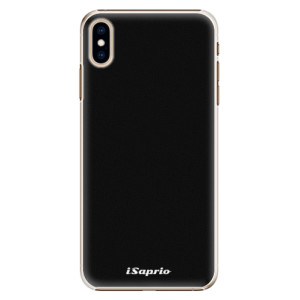 Plastové pouzdro iSaprio 4Pure černé na mobil Apple iPhone XS Max