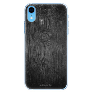 Plastové pouzdro iSaprio Black Wood 13 na mobil Apple iPhone XR