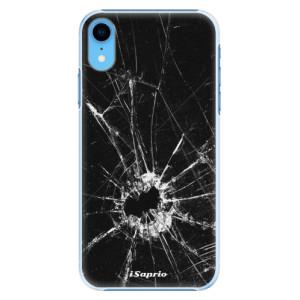 Plastové pouzdro iSaprio Broken Glass 10 na mobil Apple iPhone XR