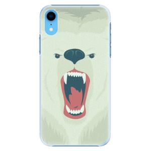 Plastové pouzdro iSaprio Naštvanej Medvěd na mobil Apple iPhone XR