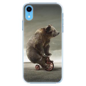 Plastové pouzdro iSaprio Medvěd 01 na mobil Apple iPhone XR