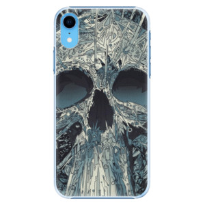 Plastové pouzdro iSaprio Abstract Skull na mobil Apple iPhone XR