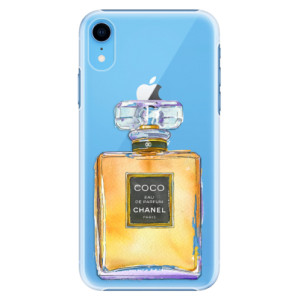 Plastové pouzdro iSaprio Chanel Gold na mobil Apple iPhone XR
