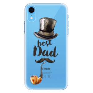 Plastové pouzdro iSaprio Best Dad na mobil Apple iPhone XR