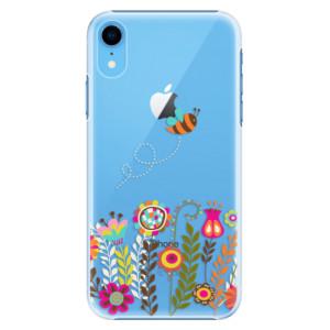 Plastové pouzdro iSaprio Včelka Pája 01 na mobil Apple iPhone XR