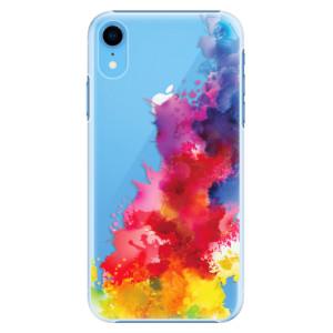 Plastové pouzdro iSaprio Color Splash 01 na mobil Apple iPhone XR
