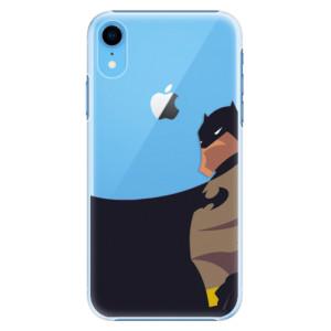 Plastové pouzdro iSaprio BaT Komiks na mobil Apple iPhone XR