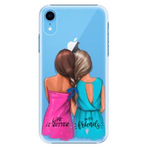 Plastové pouzdro iSaprio Best Friends na mobil Apple iPhone XR