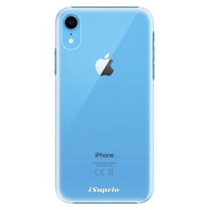 Plastové pouzdro iSaprio 4Pure mléčné bez potisku na mobil Apple iPhone XR