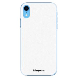 Plastové pouzdro iSaprio 4Pure bílé na mobil Apple iPhone XR