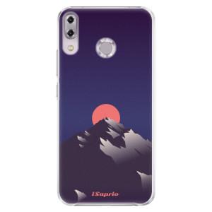Plastové pouzdro iSaprio Hora a Měsíc 04 na mobil Asus ZenFone 5Z ZS620KL