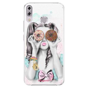 Plastové pouzdro iSaprio Donutky Očiska 10 na mobil Asus ZenFone 5Z ZS620KL
