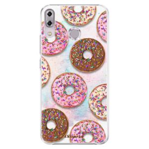 Plastové pouzdro iSaprio Donutky Všude 11 na mobil Asus ZenFone 5Z ZS620KL