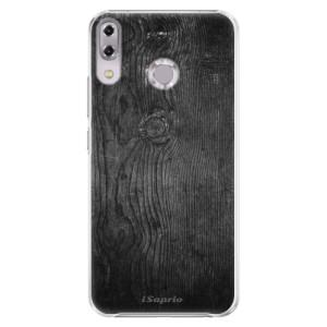 Plastové pouzdro iSaprio Black Wood 13 na mobil Asus ZenFone 5Z ZS620KL