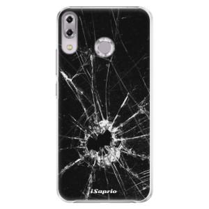 Plastové pouzdro iSaprio Broken Glass 10 na mobil Asus ZenFone 5Z ZS620KL