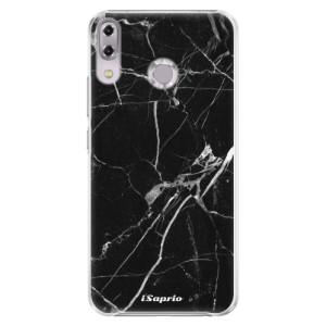 Plastové pouzdro iSaprio Black Marble 18 na mobil Asus ZenFone 5Z ZS620KL