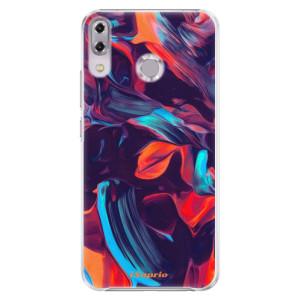 Plastové pouzdro iSaprio Barevný mramor 19 na mobil Asus ZenFone 5Z ZS620KL
