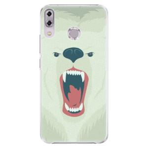 Plastové pouzdro iSaprio Naštvanej Medvěd na mobil Asus ZenFone 5Z ZS620KL