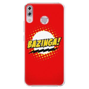 Plastové pouzdro iSaprio Bazinga 01 na mobil Asus ZenFone 5Z ZS620KL