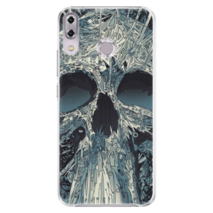 Plastové pouzdro iSaprio Abstract Skull na mobil Asus ZenFone 5Z ZS620KL
