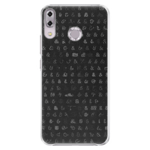 Plastové pouzdro iSaprio Ampersand 01 na mobil Asus ZenFone 5Z ZS620KL