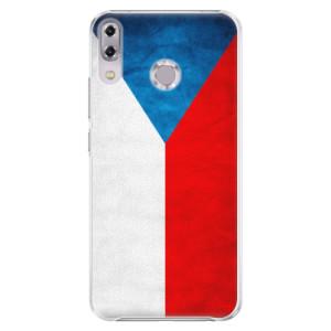 Plastové pouzdro iSaprio Česká Vlajka na mobil Asus ZenFone 5Z ZS620KL