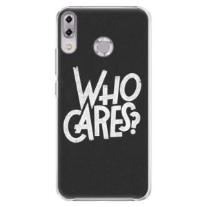 Plastové pouzdro iSaprio Who Cares na mobil Asus ZenFone 5Z ZS620KL